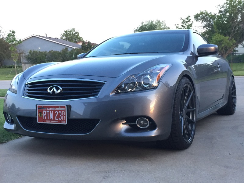 this infiniti g37x coupe with tsw wheels is just right. Black Bedroom Furniture Sets. Home Design Ideas