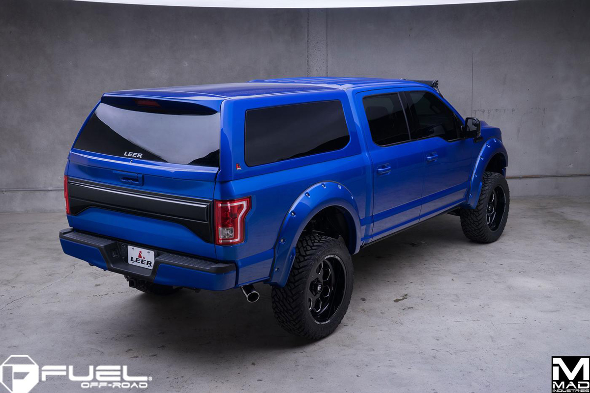 Ecoboost time with this f150 and fuel wheels