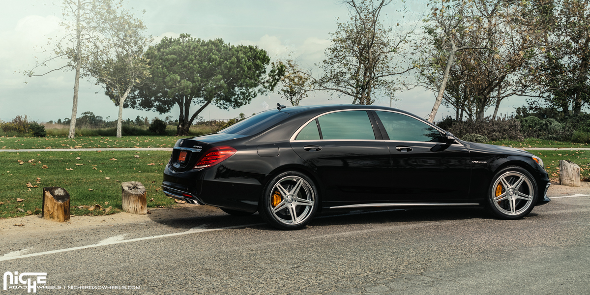 Ride In Power With Style In This S63 With Niche Wheels