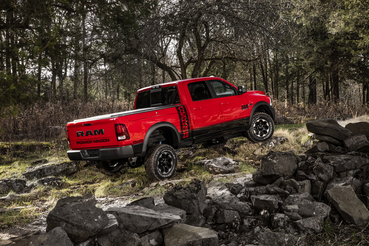 the power wagon is back with tough dodge ram wheels. Cars Review. Best American Auto & Cars Review