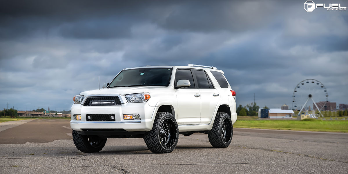 Get Some Size With This Toyota 4runner On Fuel Rims