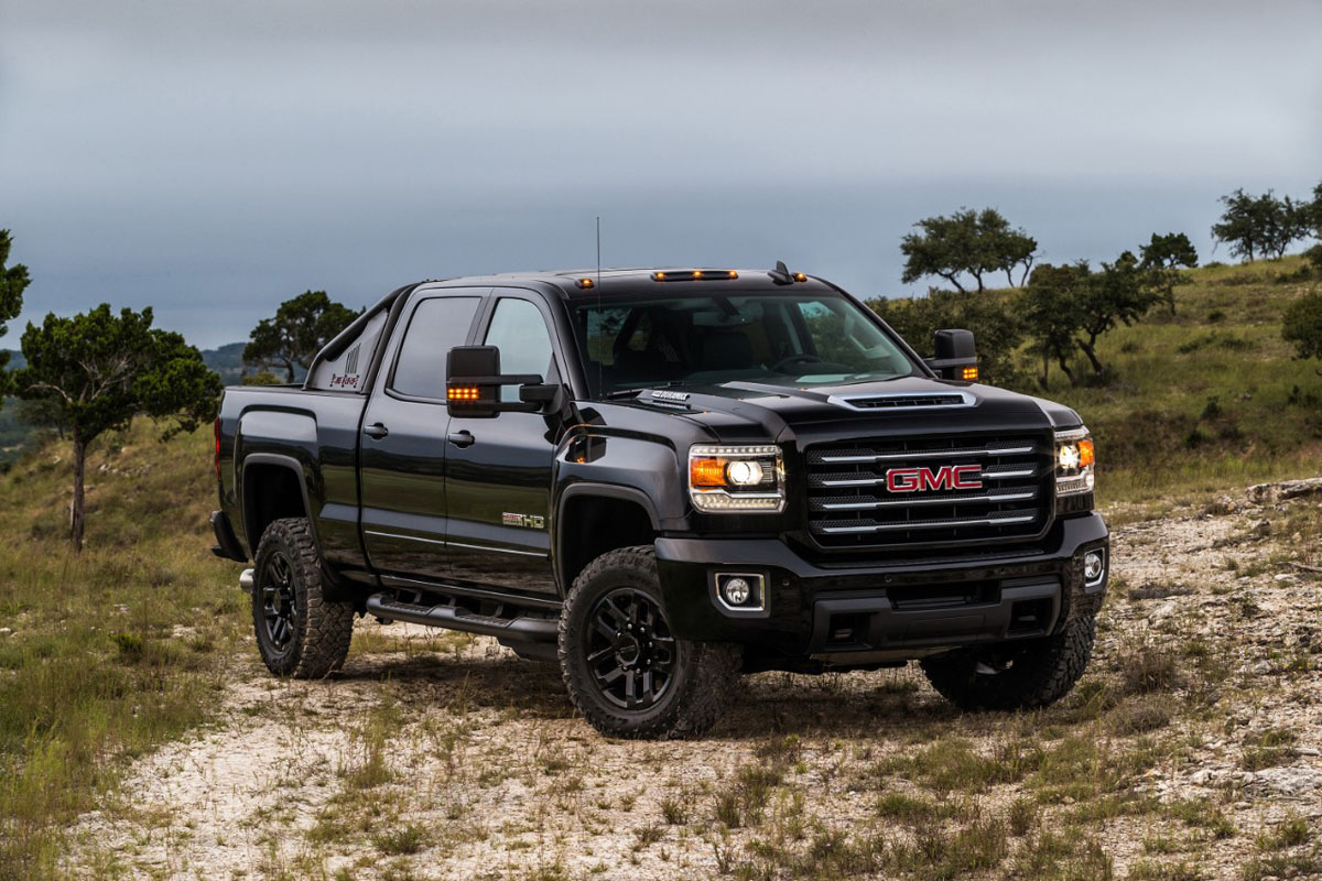 get serious off road gmc sierra wheels with the all terrain x. Black Bedroom Furniture Sets. Home Design Ideas