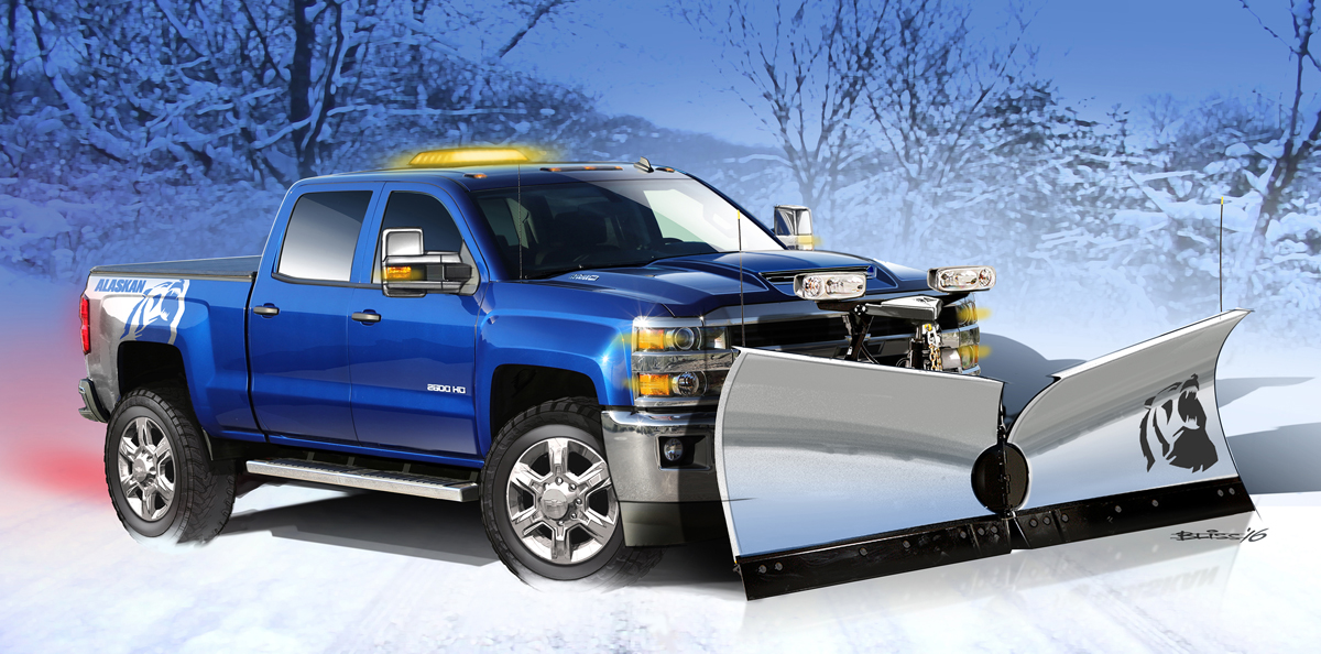 Chevy Alaskan Edition >> Silverado Alaskan Edition w/Chrome Rims and Plow is Here!
