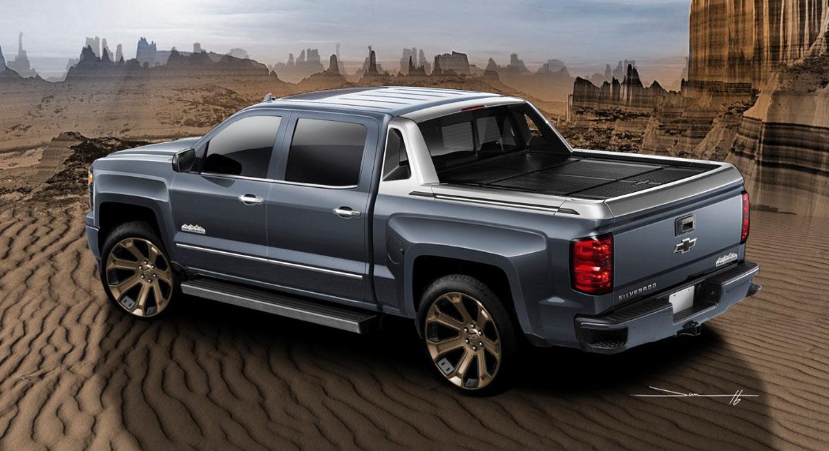 Avalanche Truck 2016 >> The Silverado High Desert brings its Truck Rims to SEMA