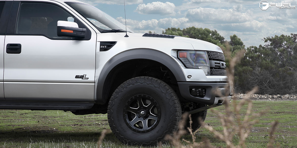 This Ford Raptor With Fuel Wheels Is An Off Road Machine