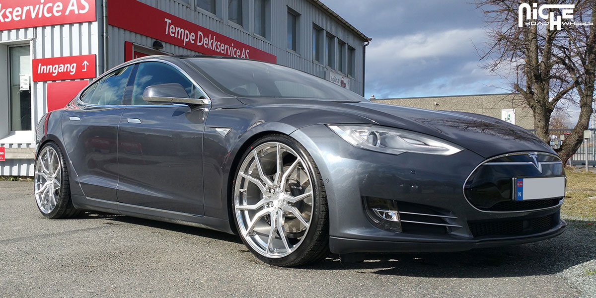 This Tesla Model S On Niche Wheels Is A Silent Custom