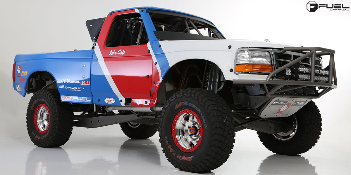 this baja ford f 150 with fuel wheels is a monster. Black Bedroom Furniture Sets. Home Design Ideas
