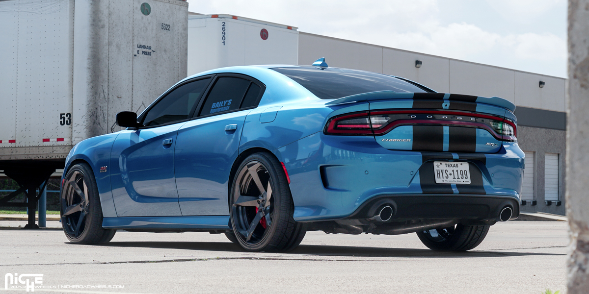 Show Some Muscle With This Dodge Charger On Niche Wheels