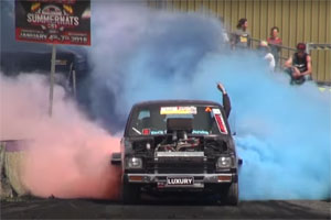 Toyota Hilux Burnout Tires and Wheels