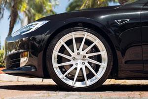 Tesla Model S P90D Niche Surge Wheels