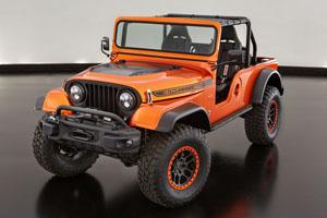 Jeep CJ66 concept custom wheels