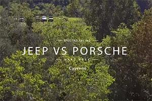 Jeep vs Porsche off road course