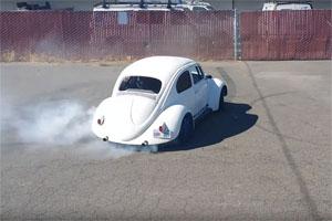 Volkswagen Beetle with Audi engine