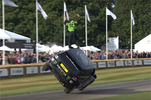 Terry Grant Two Tires and Wheels Range Rover Goodwood
