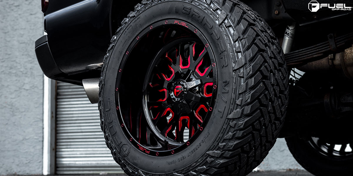 Get Sinister With This Ford F 250 Super Duty On Fuel Wheels